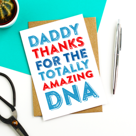 Daddy DNA Blue card