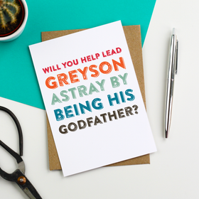 funny godfather card
