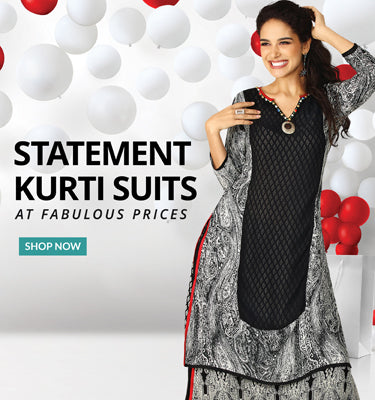 Buy Kurti suits Online in India