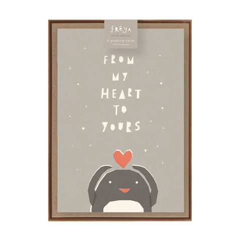 FROM MY HEART TO YOURS  - Greeting Card Pack