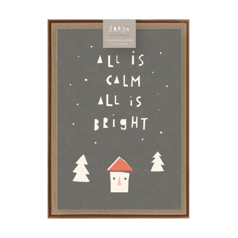 ALL IS CALM  - Greeting Card Pack