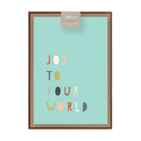 JOY TO YOUR WORLD  - Greeting Card Pack