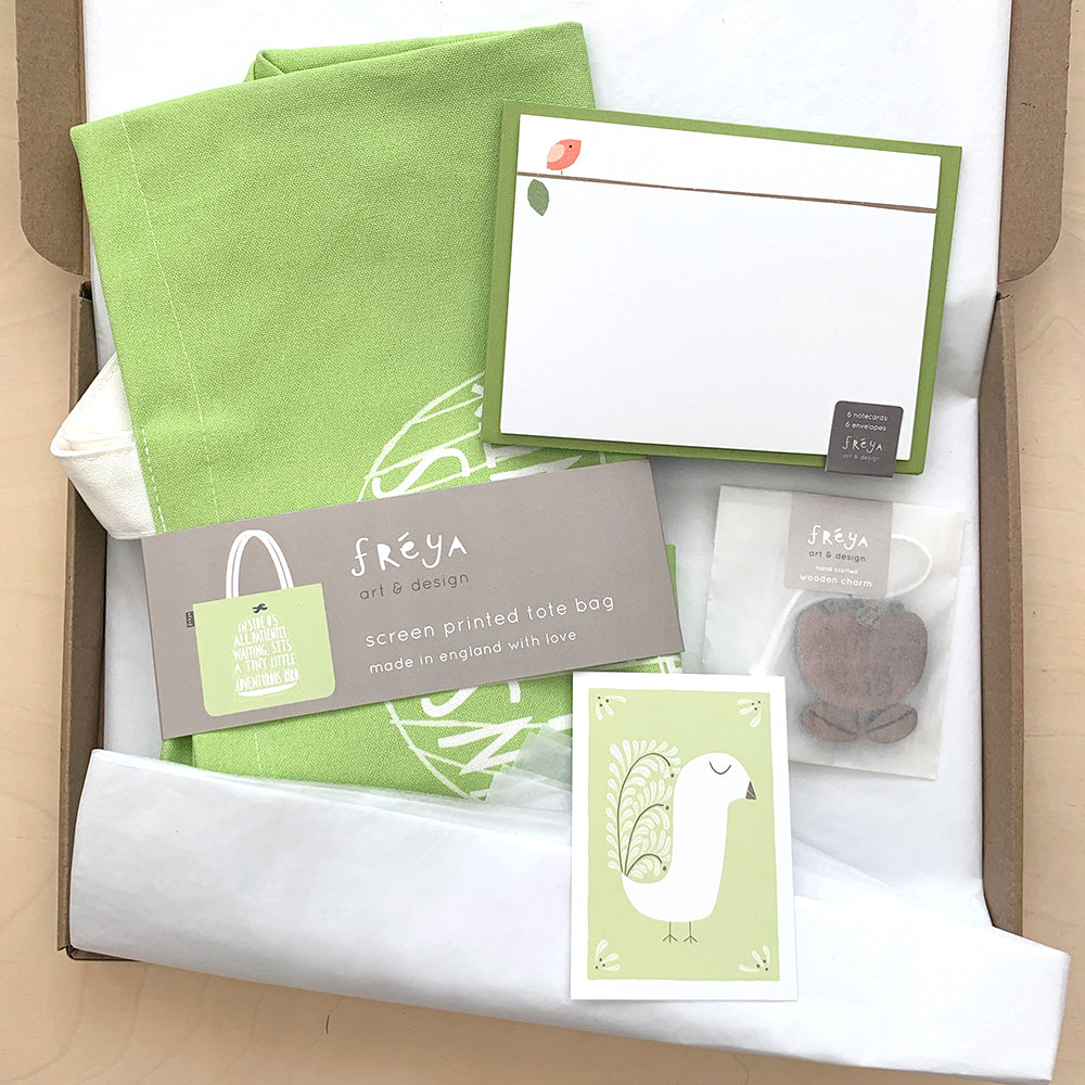Gorgeous Green Gift Box