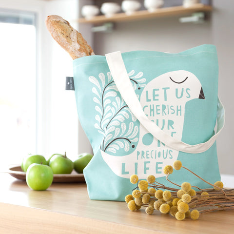 This Precious Life - Bag design in kitchen - by Freya Art
