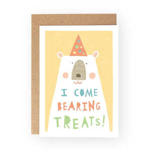 A LITTLE BOX OF BEARS - Greeting Card Pack - Freya Art & Design