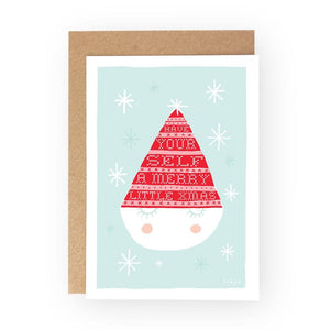 A LITTLE BOX OF CHRISTMAS 2 - Greeting Card Pack - Freya Art & Design