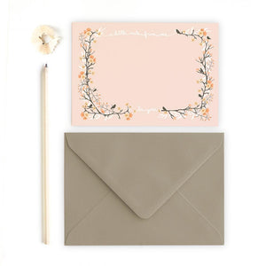 A LITTLE NOTE - Note Cards - Freya Art & Design