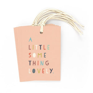 A LITTLE SOMETHING LOVELY - Gift Tags - Freya Art & Design