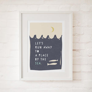 A PLACE BY THE SEA - Fine Art Print - Freya Art & Design