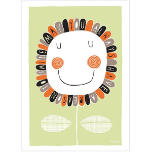A REASON TO SMILE - Fine Art Print - Freya Art & Design
