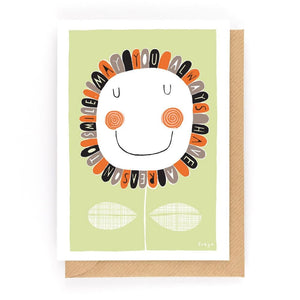 A REASON TO SMILE - Greeting Card - Freya Art & Design