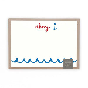 AHOY - Note Cards - Freya Art & Design