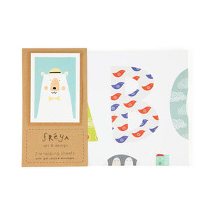 ALPHABET - Gift Wrap Set - Freya Art & Design