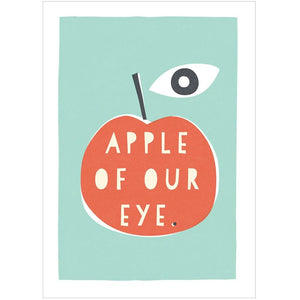 APPLE OF OUR EYE - Fine Art Print - Freya Art & Design