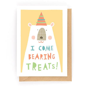 BEARING TREATS - Mini Gift Card - Freya Art & Design