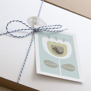 Beautiful Blue Gift Box - Freya Art & Design