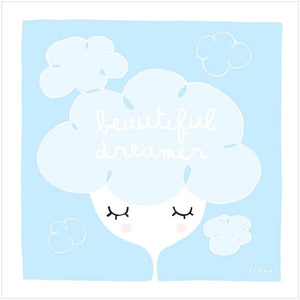 BEAUTIFUL DREAMER - Fine Art Print - Freya Art & Design