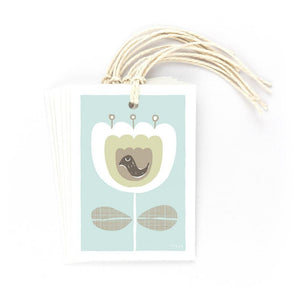 BIRD & FLOWER - Gift Tags - Freya Art & Design
