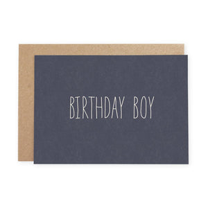 BIRTHDAY BOY - Greeting Card - Freya Art & Design