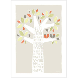 BRANCHES - Greeting Card - Freya Art & Design