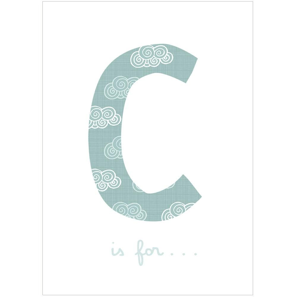 C IS FOR... - Fine Art Print - Freya Art & Design
