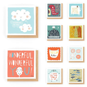 Card Bundle #1 (10 for £10) - Freya Art & Design