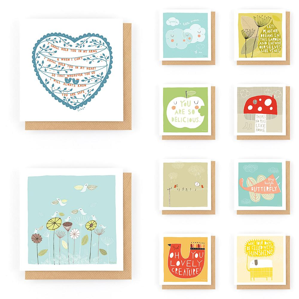 Card Bundle #7 (10 for £10) - Freya Art & Design
