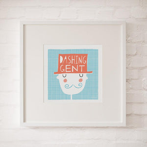 DASHING GENT - Fine Art Print - Freya Art & Design
