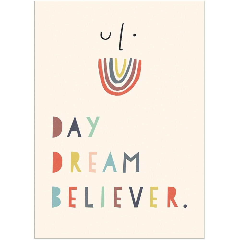 DAYDREAM BELIEVER - Greeting Card - Freya Art & Design