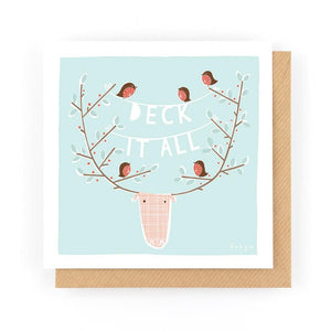 DECK IT ALL - Greeting Card - Freya Art & Design