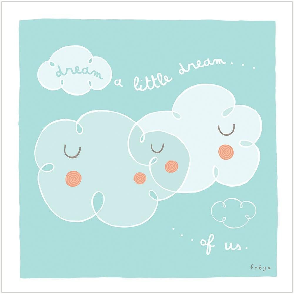 DREAM A LITTLE DREAM - Greeting Card - Freya Art & Design