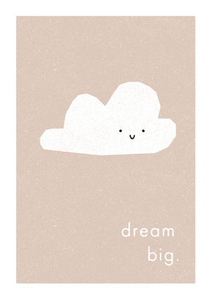 DREAM BIG - Fine Art Print - Freya Art & Design