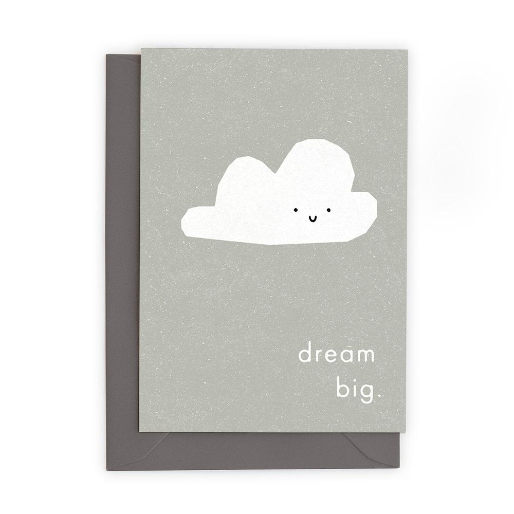 DREAM BIG - Greeting Card - Freya Art & Design
