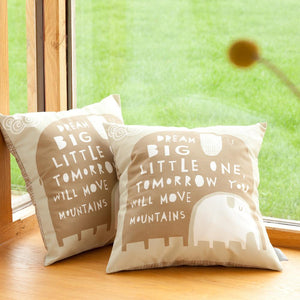 DREAM BIG LITTLE ONE - Cushion - Freya Art & Design