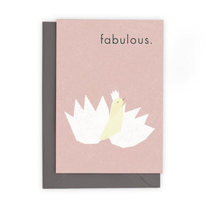 FABULOUS - Greeting Card - Freya Art & Design