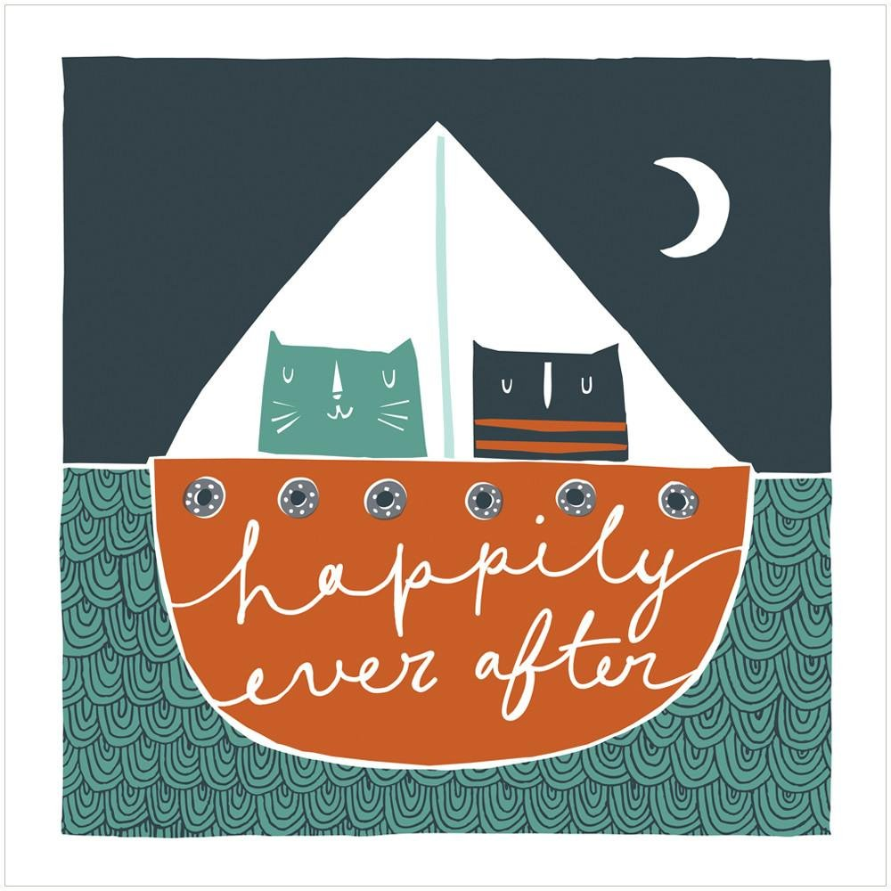 HAPPILY EVER AFTER - Fine Art Print - Freya Art & Design