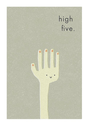 HIGH FIVE - Fine Art Print - Freya Art & Design