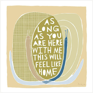 HOME - Fine Art Print - Freya Art & Design