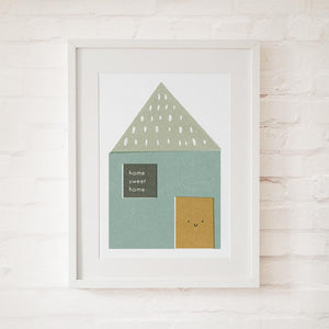 HOME SWEET HOME - Fine Art Print - Freya Art & Design