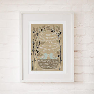 IF I COULD - Fine Art Print - Freya Art & Design