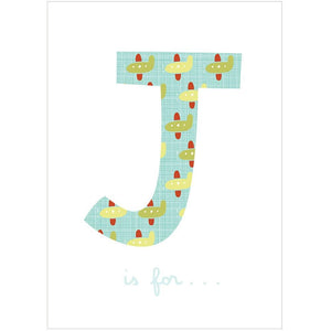 J IS FOR... - Fine Art Print - Freya Art & Design