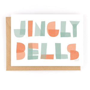 JINGLY BELLS - Greeting Card - Freya Art & Design
