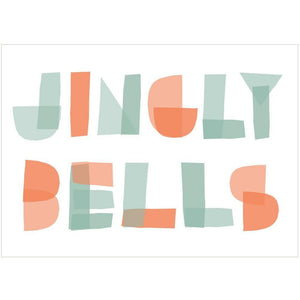 JINGLY BELLS - Mini Gift Card - Freya Art & Design