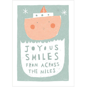 JOYOUS SMILES - Greeting Card - Freya Art & Design