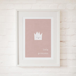 LITTLE PRINCESS - Fine Art Print - Freya Art & Design