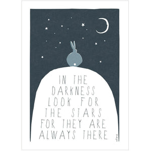 LOOK FOR THE STARS - Fine Art Print - Freya Art & Design