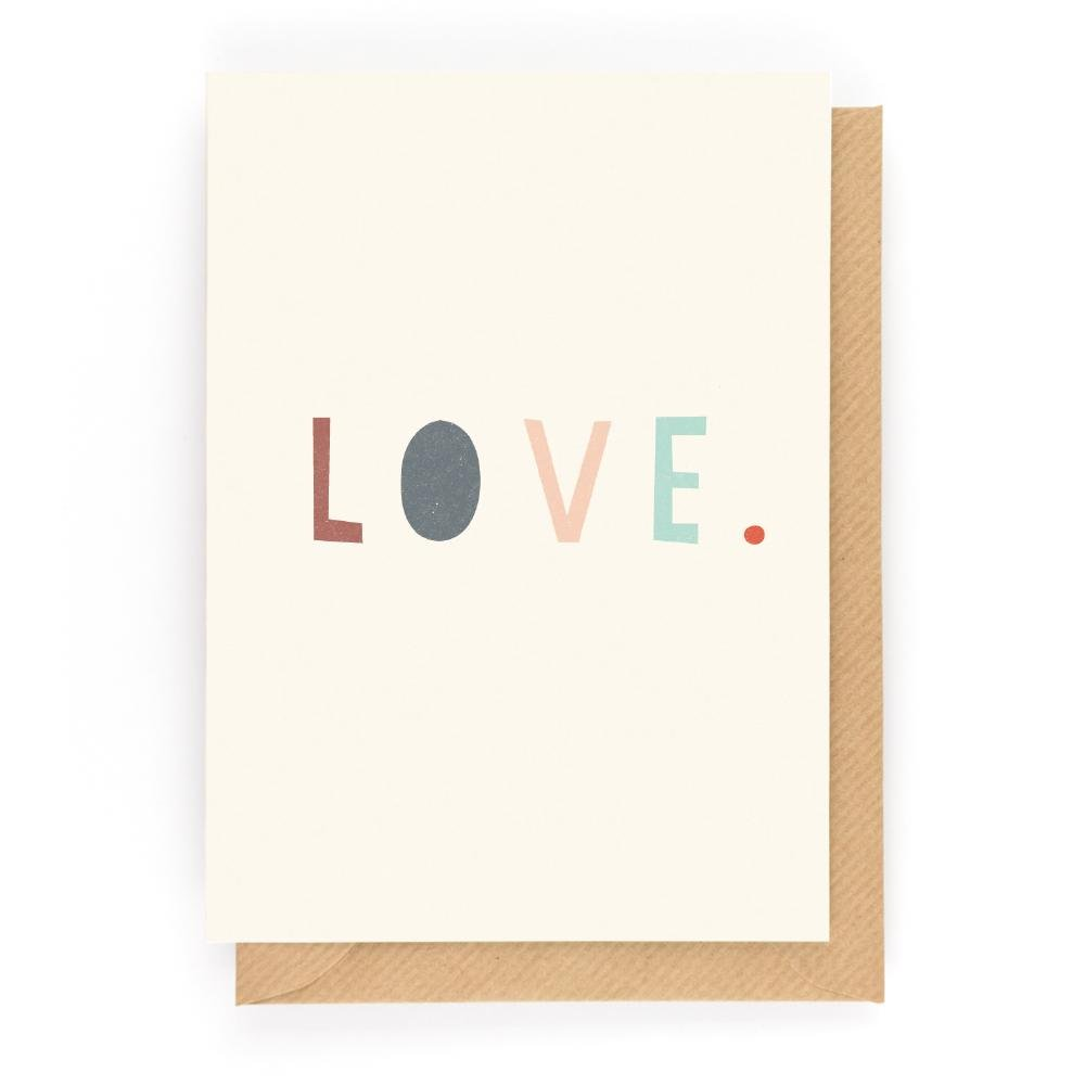 LOVE - Mini Gift Card - Freya Art & Design