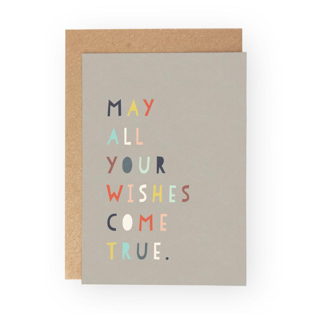 MAY ALL YOUR WISHES COME TRUE - Greeting Card Pack - Freya Art & Design