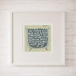 MERMAID SONGS - Fine Art Print - Freya Art & Design