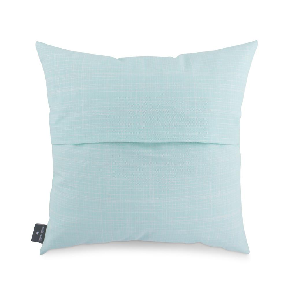 NEW TO THIS WORLD - Cushion (turquoise) - Freya Art & Design